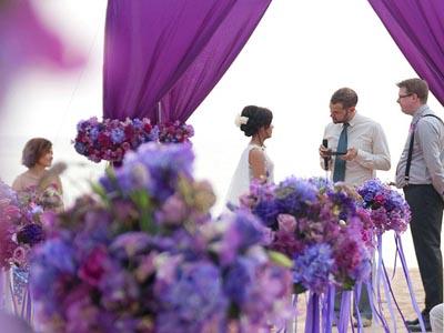 จัดดอกไม้งานแต่ง