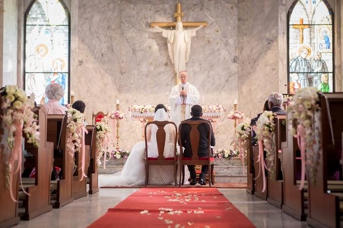 wedding at Assumption Cathedral Church