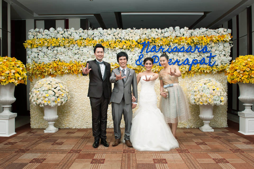 จัดดอกไม้งานแต่ง16