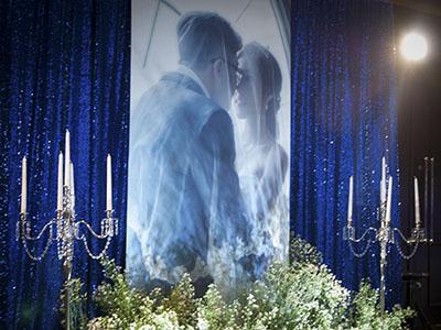 backdrop งานแต่ง