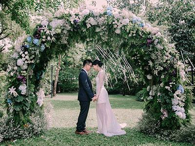 จัดดอกไม้งานแต่งในสวน 99 Rest Backyard