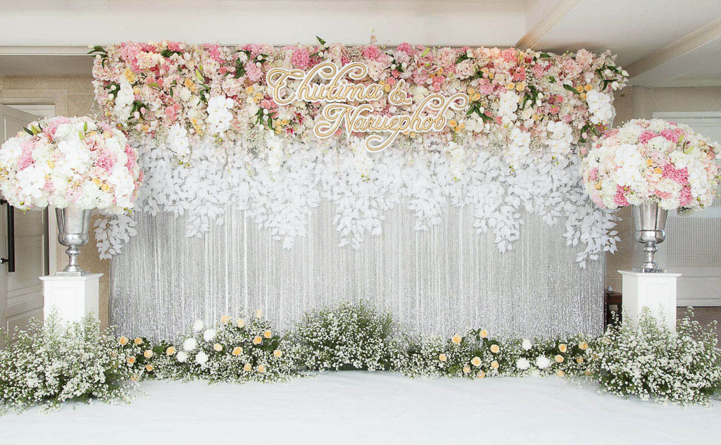 จัดดอกไม้งานแต่ง SC Park Hotel