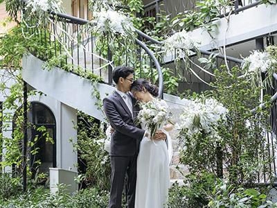 จัดดอกไม้งานแต่ง The Gardens of Dinsor Palace